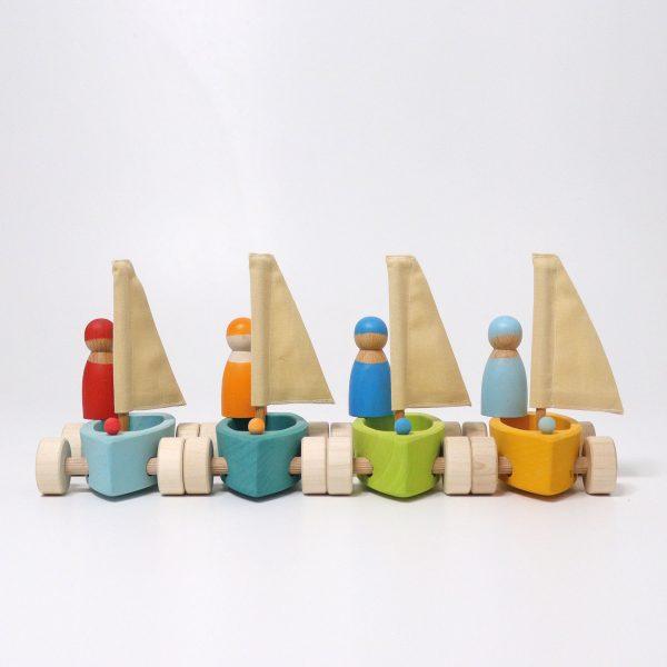 Barchetta con marinaio Grimm's