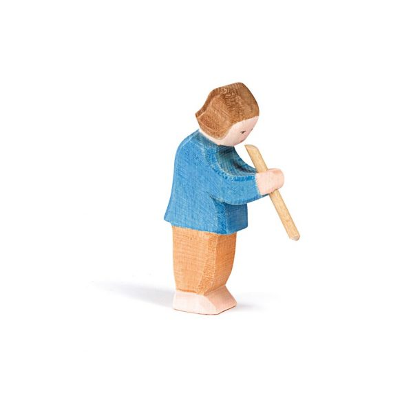 Bambino col flauto Ostheimer 10022