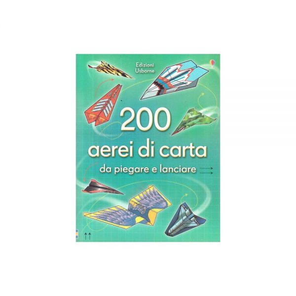 200 aerei di carta