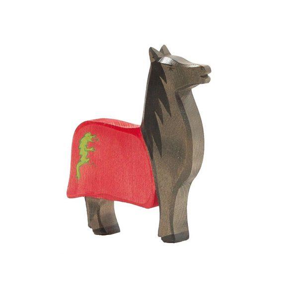 Cavallo per cavaliere nero Ostheimer 27701