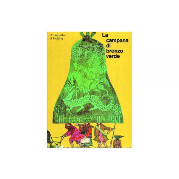 la campana di bronzo verde