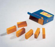 Mattoncini a cera unico colore Stockmar 850360