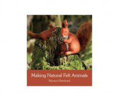 Making natural felt animals