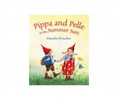 Pippa and Pelle in the Summer Sun