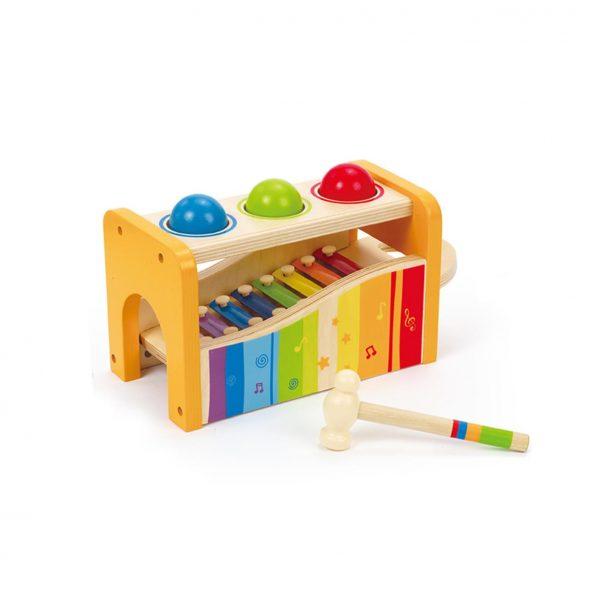 Banco delle palline e xilofono