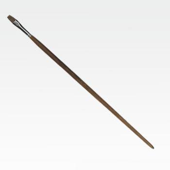 Pennello sintetico punta piatta n° 08