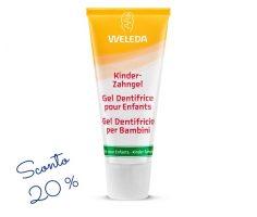 Gel dentifricio per bambini Weleda