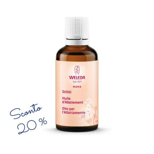 Olio per allattamento Weleda