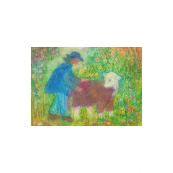 Cartolina agnellino