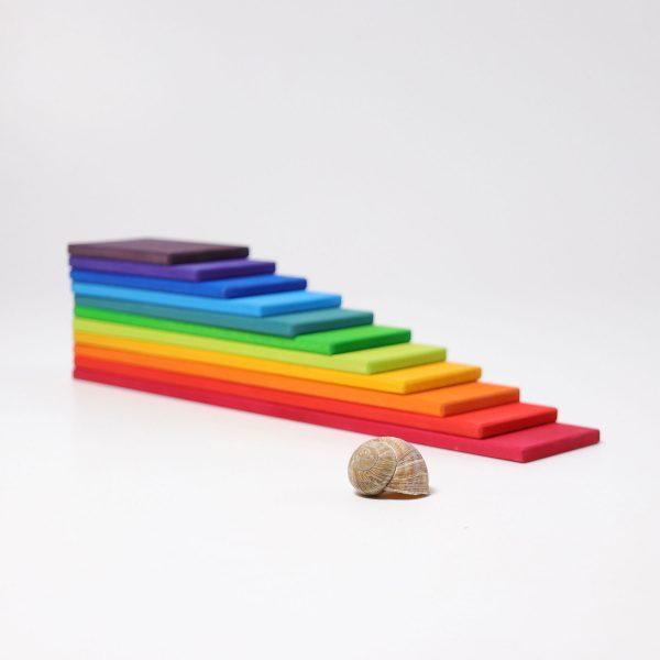 Costruzioni a listelli arcobaleno Grimm's 10668