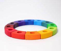 Anello compleanno arcobaleno Grimm's 01700