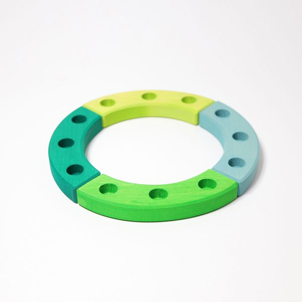 Piccolo anello compleanno verde Grimm's 02052