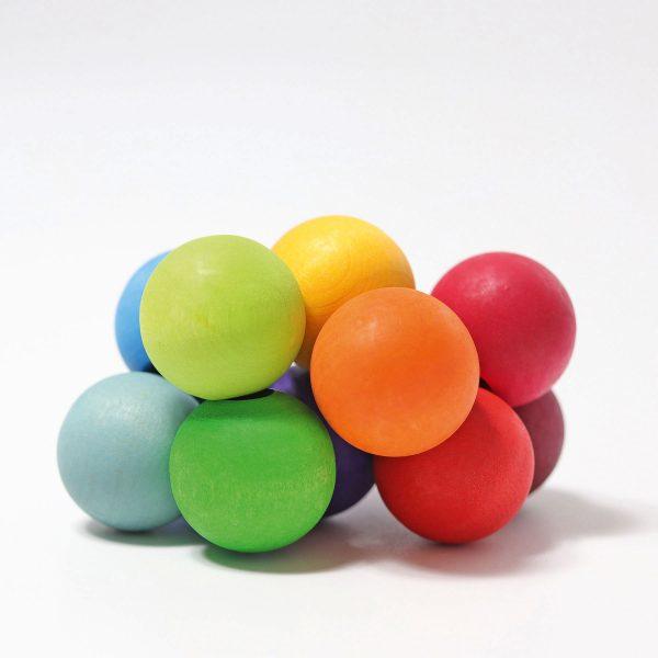 Sonaglio di perle arcobaleno Grimm's 08121
