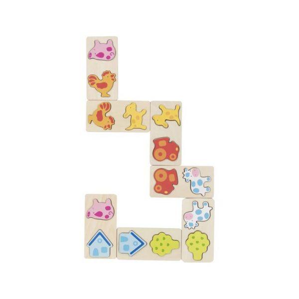 Domino 3D fattoria Goki