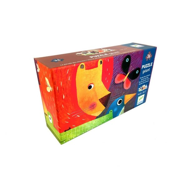 Puzzle gigante Animali Djeco