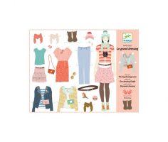 Bambole di carta da vestire Djeco