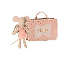 Angioletto rosa nella valigia Maileg
