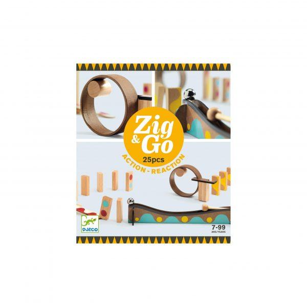 Zig & Go Djeco - 25 pezzi