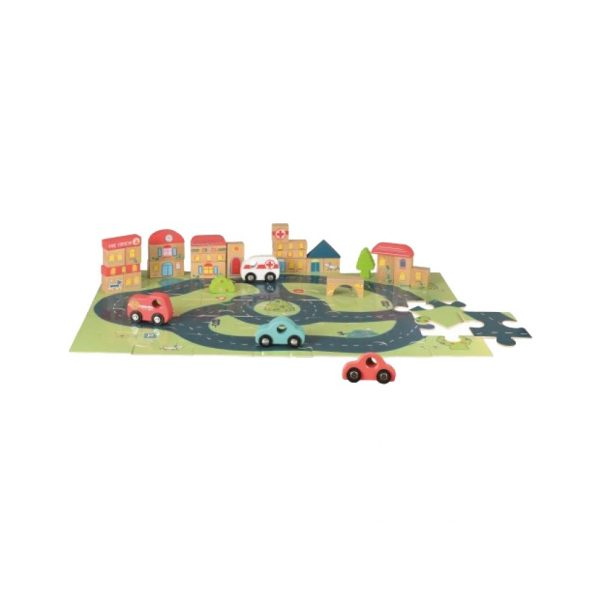 Puzzle City Car Egmont