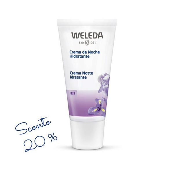 Iris Crema notte idratante Weleda