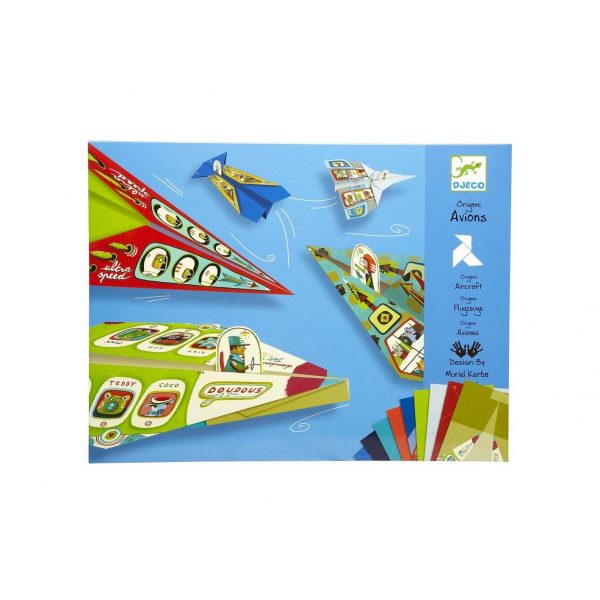 Origami aerei Djeco