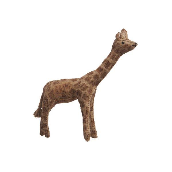 Giraffa in feltro Glückskäfer
