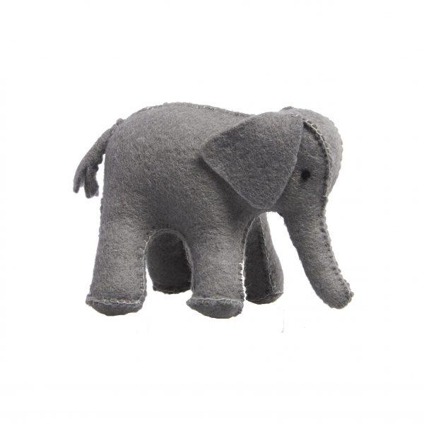 Elefante in feltro Glückskäfer