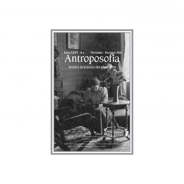 Rivista antroposofia nr 6 - anno 2020
