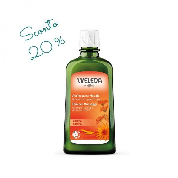 Olio massaggi Arnica grande Weleda