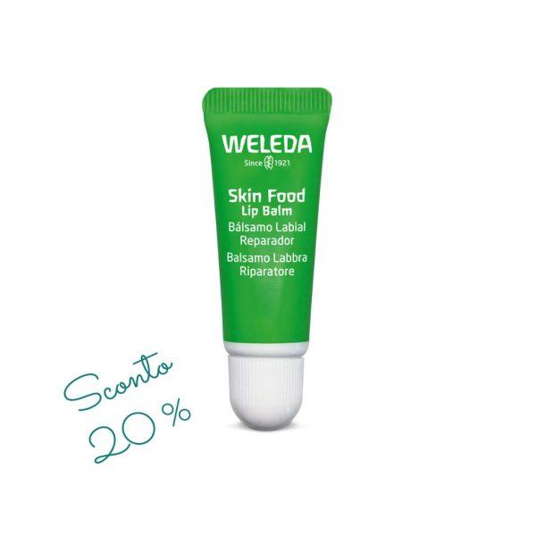 Skin Food Balsamo labbra Weleda