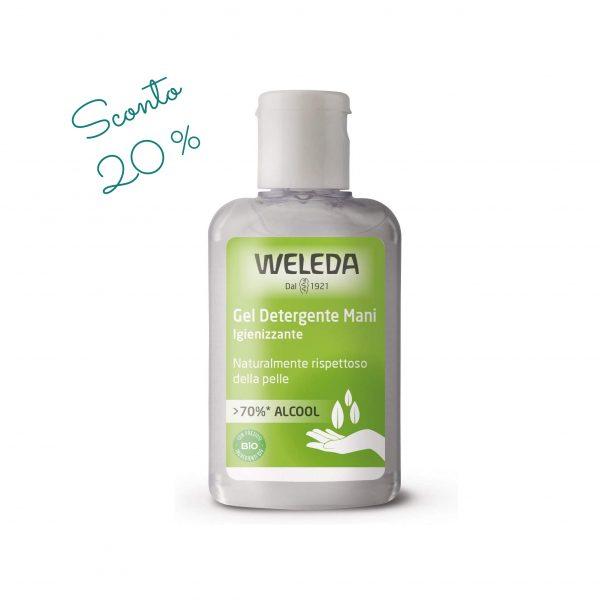 Gel mani igienizzante Weleda