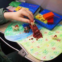 Fare arte con i bambini