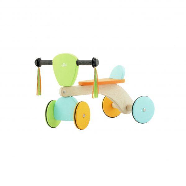 Quadriciclo pastel baby buggy Sevi