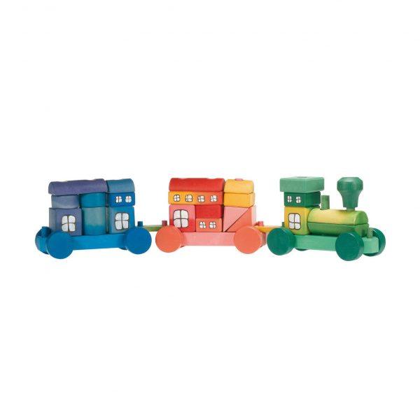 Trenino colorato Ostheimer 5510090
