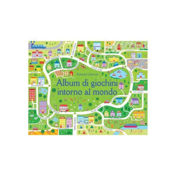 Album di giochini intorno al mondo