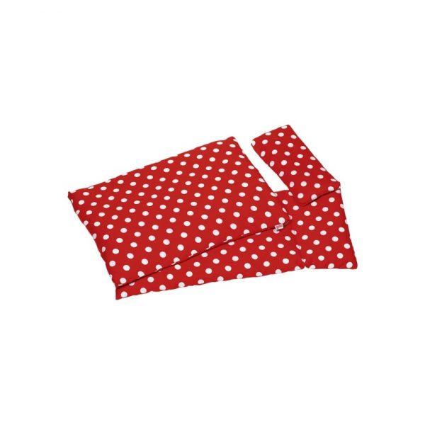 Biancheria rossa per letto delle bambole Goki 51805
