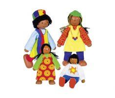 Famiglia africana Goki
