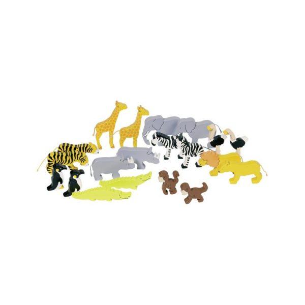 Animali della savana Goki