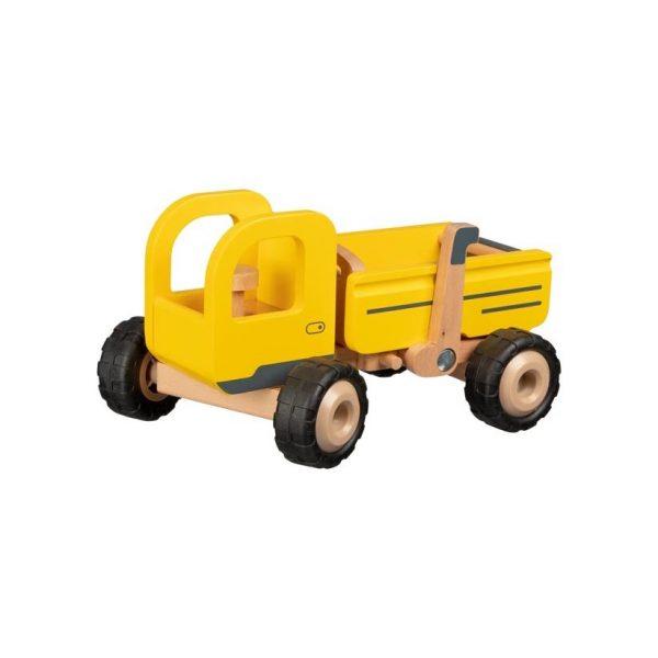 Autocarro con cassone giallo Goki