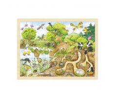 Puzzle Esploriamo la natura Goki