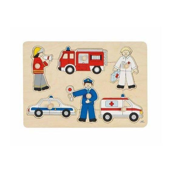 Puzzle piolini professioni Goki