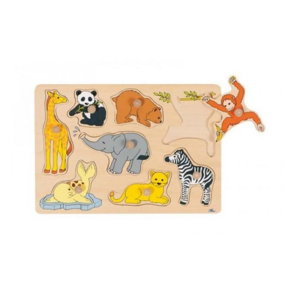 Puzzle piolini zoo Goki