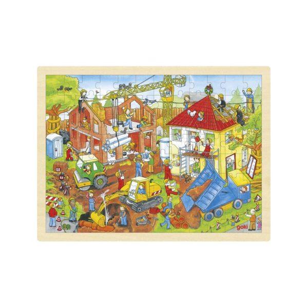 Puzzle cantiere Goki