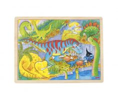 Puzzle dinosauri Goki