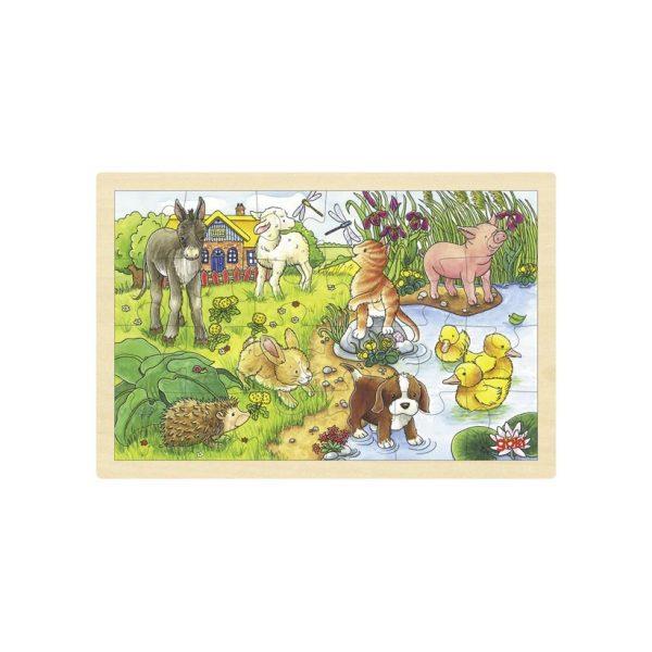 Puzzle Cuccioli Goki