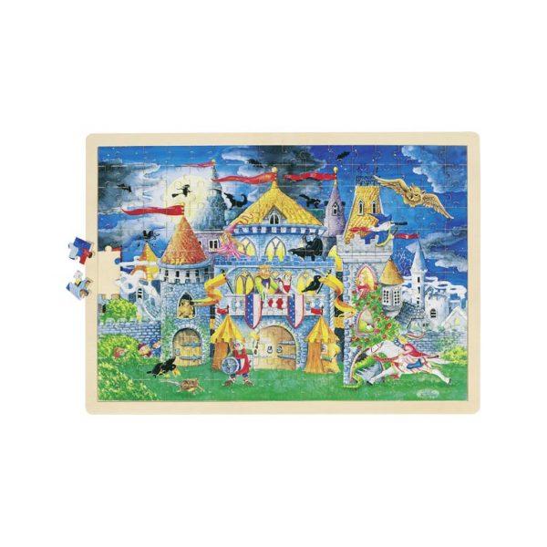 Puzzle castello Goki