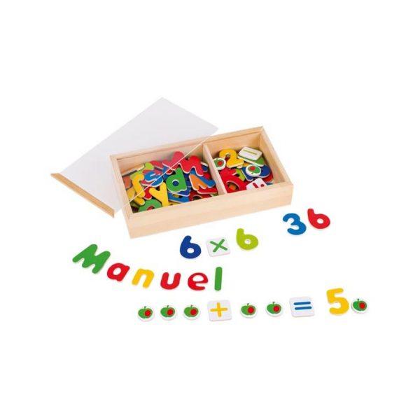 Lettere e numeri magnetici Goki