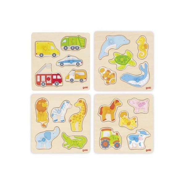 Puzzle piolini Goki